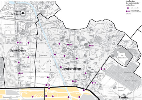 Donnez votre avis sur v lib et velcom archives de la - Porte d aubervilliers plan ...