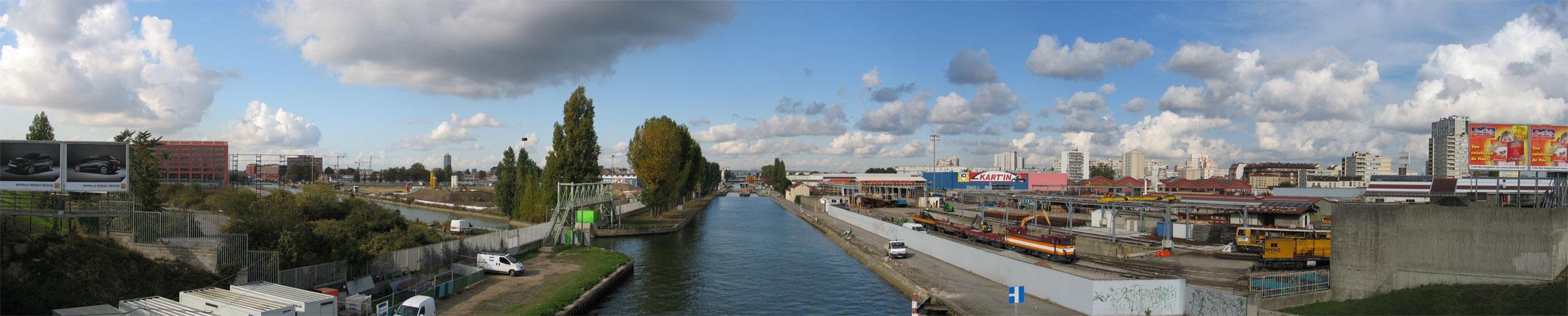 Quartier canal porte d aubervilliers a d marre enfin - Porte d aubervilliers plan ...